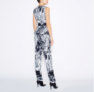 Jumpsuit with peplum small - 4