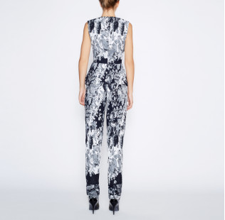 Jumpsuit with peplum small - 3