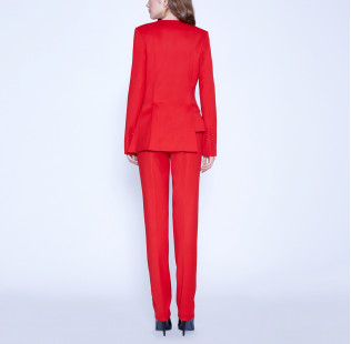 Asymmetric suit with buttons small - 3