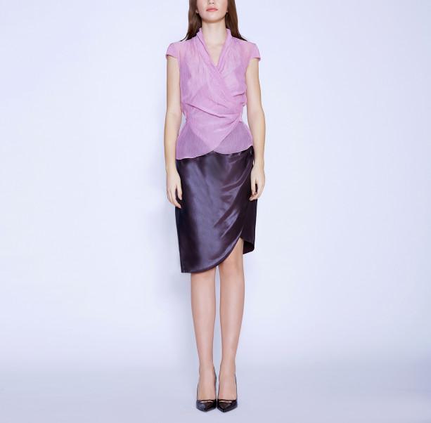 Draped skirt - 5