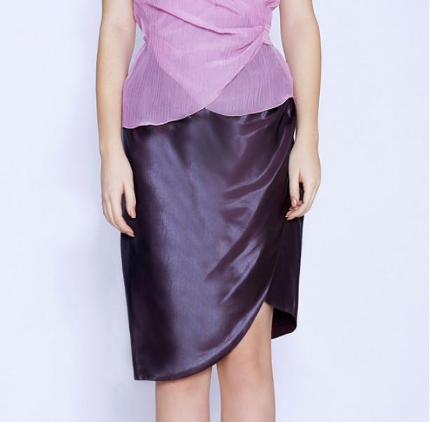 Draped skirt - 2