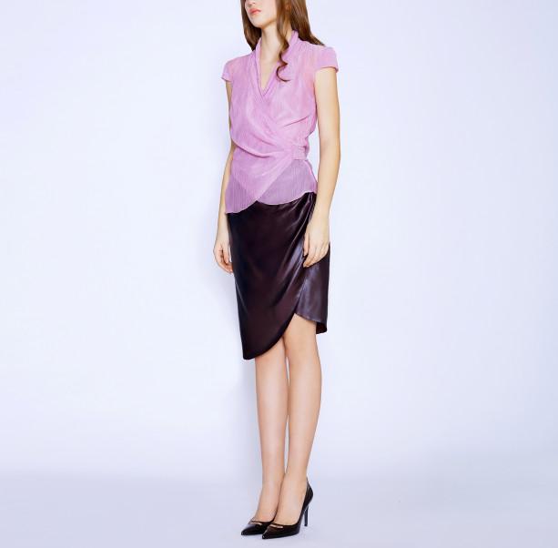 Draped skirt - 4