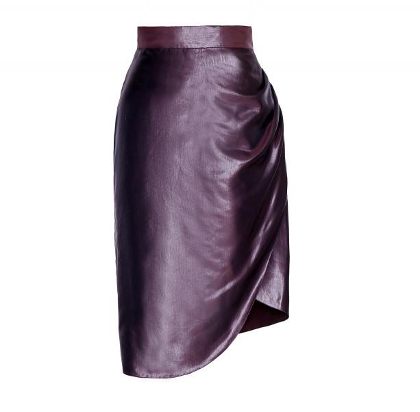 Draped skirt - 1