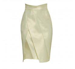 High cotton skirt
