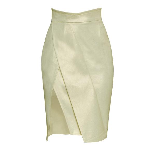 High cotton skirt - 1