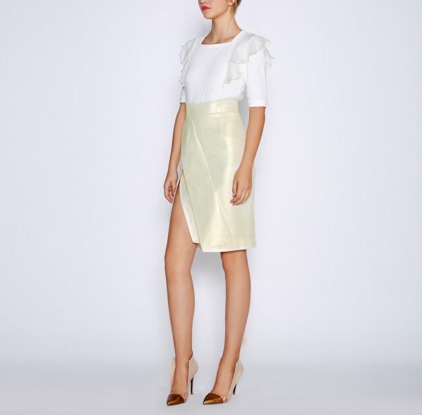 High cotton skirt - 4