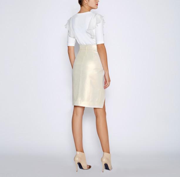 High cotton skirt - 3