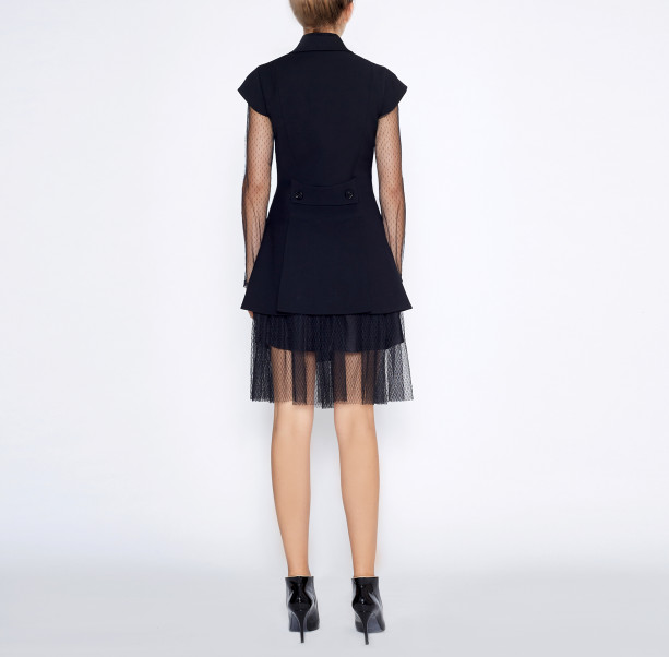 Pleated skirt with chain - 2
