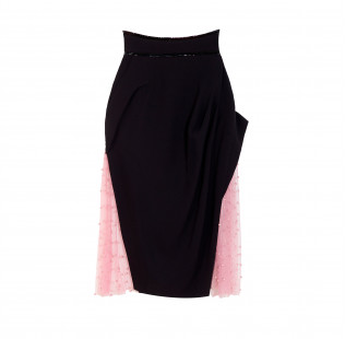 Pearl pencil skirt small - 1